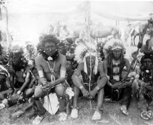 Crow men dancers 1890
