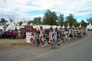 Crow Parade Dance 2004